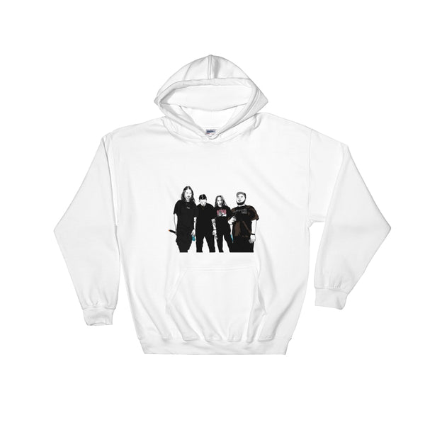 Seshollowaterboyz White Hoodie Sweater (Unisex), Babes & Gents, Ottawa