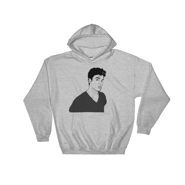 Shawn Mendes Grey Hoodie Sweater (Unisex), Babes & Gents, Ottawa