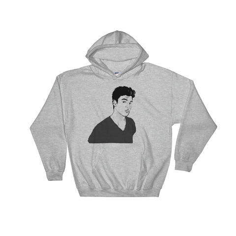 Shawn Mendes Grey Hoodie Sweater (Unisex)