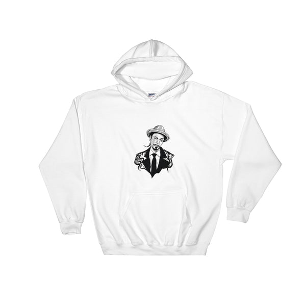 Snoop Dogg White Hoodie Sweater (Unisex), Babes & Gents, Ottawa