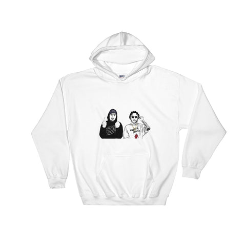$uicideboy$ Suicide Boys White Hoodie Sweater (Unisex)