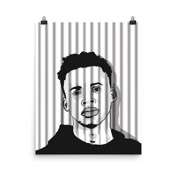Tay-k Art Poster (6 sizes) // Babes & Gents // www.babesngents.com