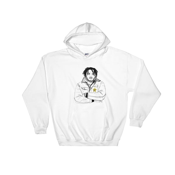 Tee Grizzley White Hoodie Sweater (Unisex), Babes & Gents, Ottawa