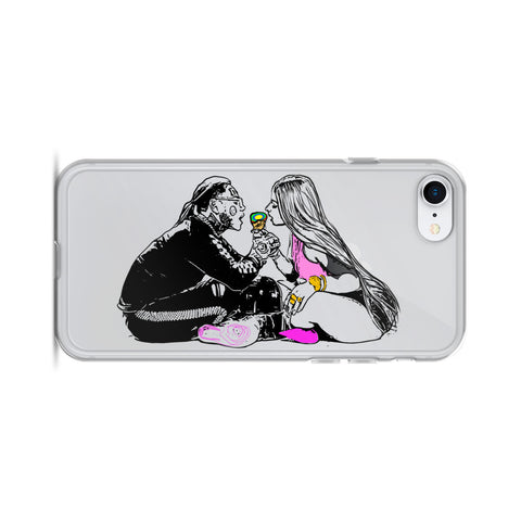 Tekashi 69 6ix9ine and Nicki Minaj Fefe Apple IPhone Case