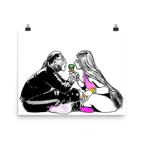 TEKASHI 69 6IX9INE AND NICKI MINAJ FEFE 11x17 Art Poster