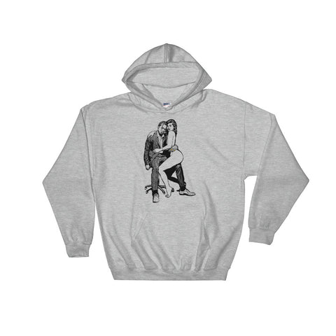 Travis Scott & Kylie Jenner Grey Hoodie Sweater (Unisex)