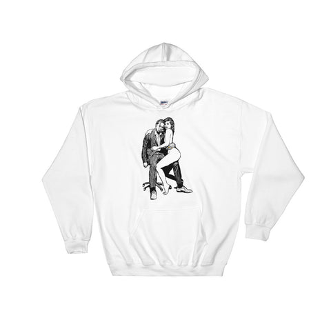 Travis Scott & Kylie Jenner White Hoodie Sweater (Unisex)