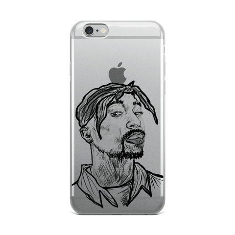 Tupac Shakur 3 Apple IPhone Case
