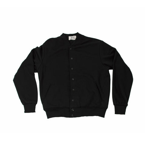 Black Baseball Club Jacket (Unisex)