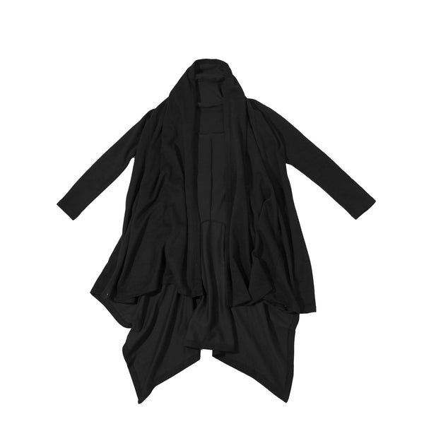 Dark knight hooded cardigan (Unisex) // Streetwear Fashion // ZARGARA X Babes & Gents // www.zargara.com