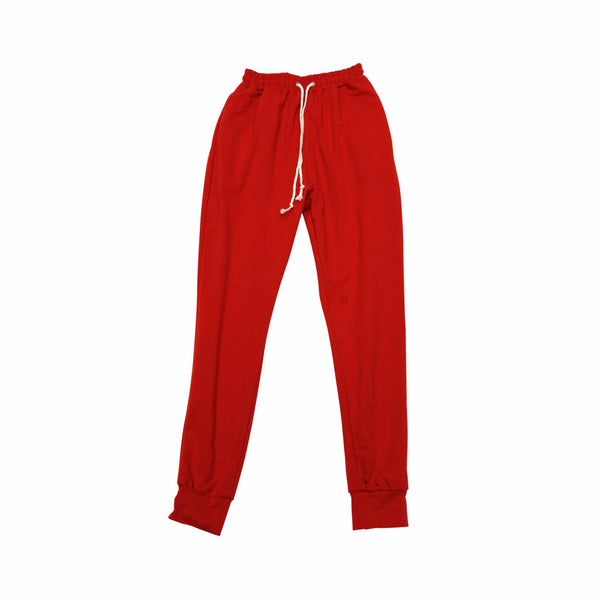 Red Jogger Pants (Female) // Zargara, Ottawa