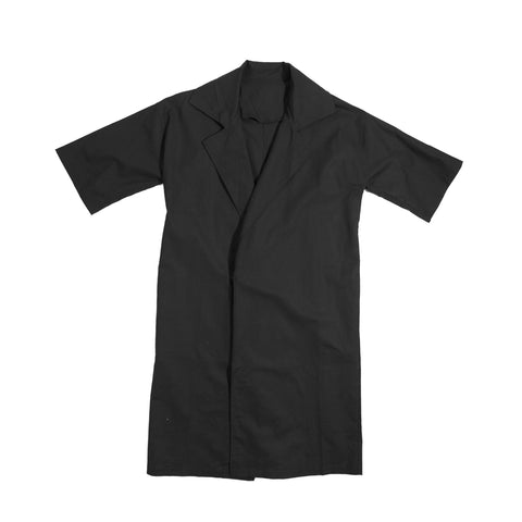 Short sleeve trench coat (unisex)