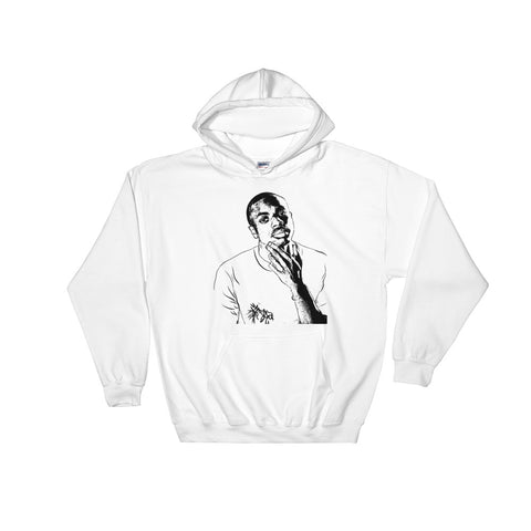 Vince Staples White Hoodie Sweater (Unisex)