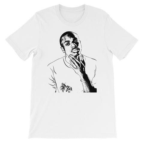 Vince Staples White Tee (Unisex)