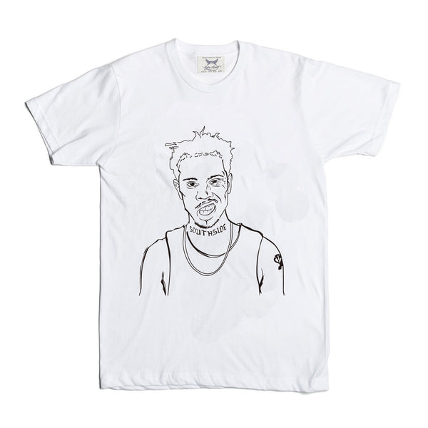 Vic Mensa u mad White Tee (Unisex) // savemoney traffic chicago beatdown // Babes & Gents // www.babesngents.com