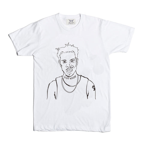 Vic Mensa u mad White Tee (Unisex) // savemoney traffic chicago beatdown
