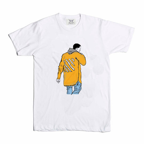 Kanye West Yeezy in Off White White Tee (Unisex)