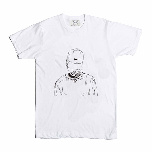Bryson Tiller trapsoul White Tee (Unisex) // madness pen griffey // Babes & Gents // www.babesngents.com