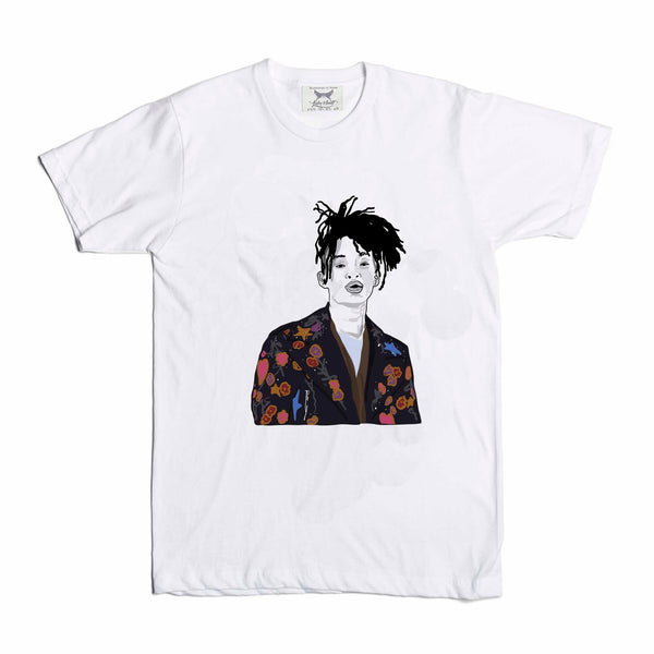 Jaden Smith White Tee (Unisex) // T-shirt // Babes & Gents // www.babesngents.com