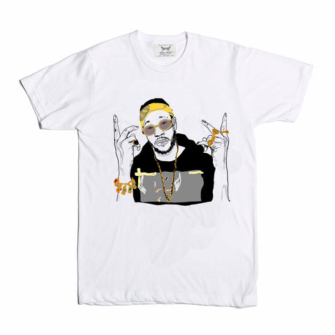 2 Chainz two Kids White Tee (Unisex)
