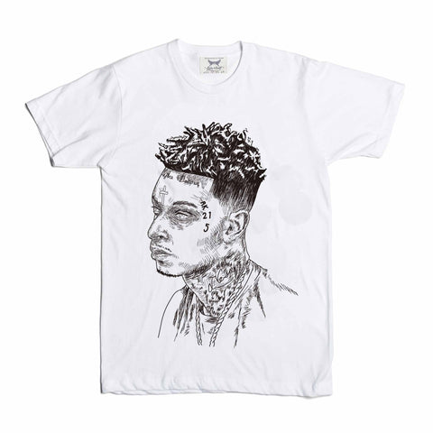 21 Savage Mode White Tee (Unisex)