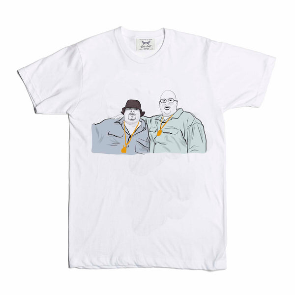 Fat Joe and Big Pun White Tee (Unisex) // T-shirt // Babes & Gents // www.babesngents.com