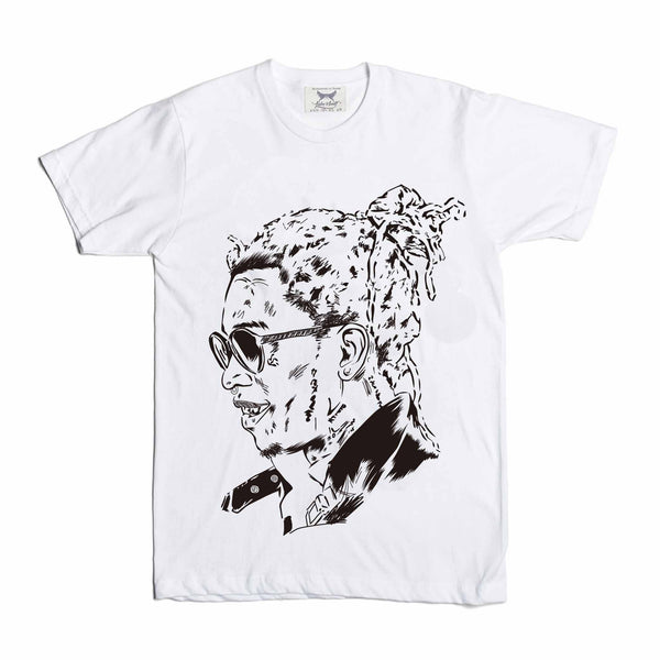 Young Thug White Tee // Slime season barter 6 thugger stoner cesar the ape // Babes & Gents // www.babesngents.com