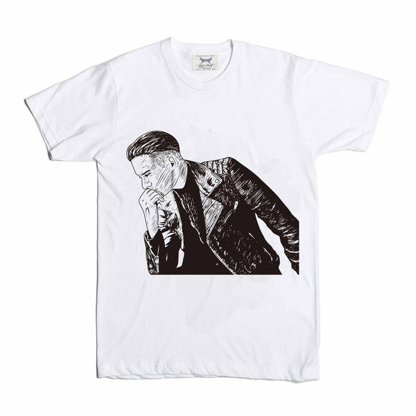 G-eazy When its dark out White Tee (Unisex) // geazy g eazy leather jacket// Babes & Gents // www.babesngents.com