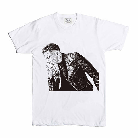G-eazy When its dark out White Tee (Unisex) // geazy g eazy leather jacket 2