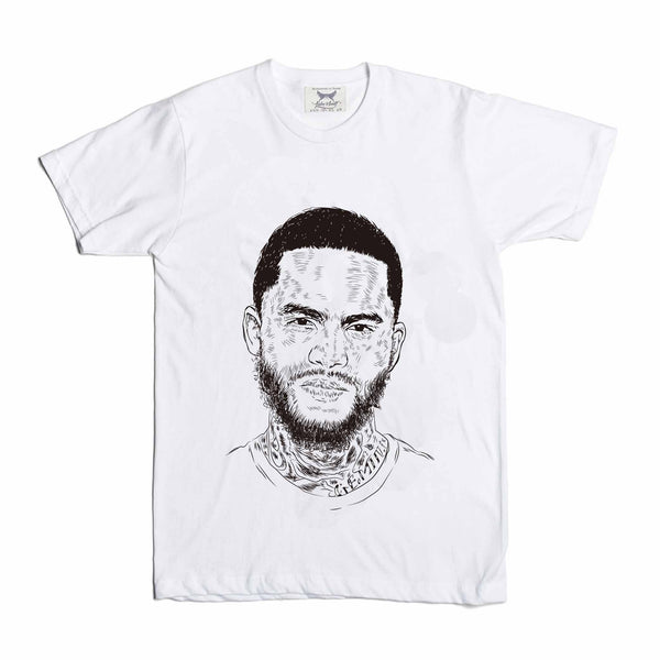 Dave East White Tee (Unisex) // T-shirt // Babes & Gents // www.babesngents.com