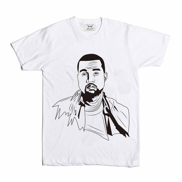 Kanye West Yeezy White Tee // T-shirt // Babes & Gents // www.babesngents.com