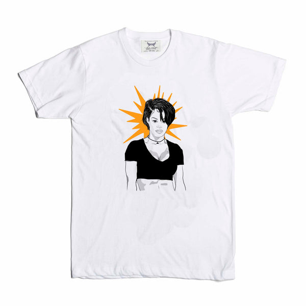 Teyana Taylor White Tee (Unisex) // T-shirt // Babes & Gents // www.babesngents.com