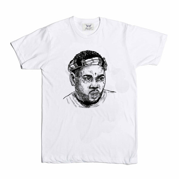 Kevin Gates BWA White Tee (Unisex) // T-shirt // Babes & Gents // www.babesngents.com