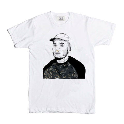 Anderson .Paak White Tee (Unisex)