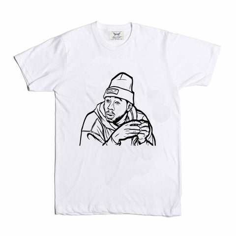 Tyler The Creator Golf White Tee (Unisex)