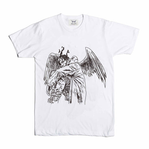 Travis Scott Birds in the Trap Sing McKnight White Tee (Unisex)