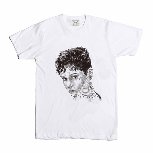 Kehlani Gangsta White Tee (Unisex) // T-shirt // Babes & Gents // www.babesngents.com