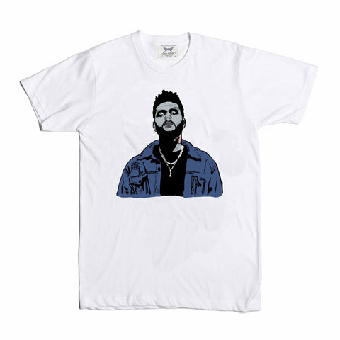 The Weeknd White Tee (Unisex)