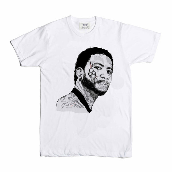 Gucci Mane White Tee (Unisex) // T-shirt // Babes & Gents // www.babesngents.com
