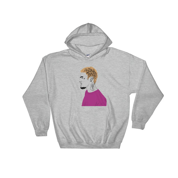 Wifisfuneral Grey Hoodie Sweater (Unisex), Babes & Gents, Ottawa