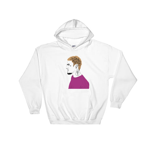 Wifisfuneral White Hoodie Sweater (Unisex)