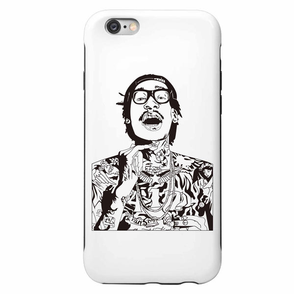 Wiz Khalifa Apple IPhone 4 5 5s 6 6s Plus Galaxy Case // see u again we dem boyz king of everything taylor gang // Babes & Gents // www.babesngents.com