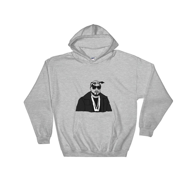 Young Jeezy Grey Hoodie Sweater (Unisex), Babes & Gents, Ottawa
