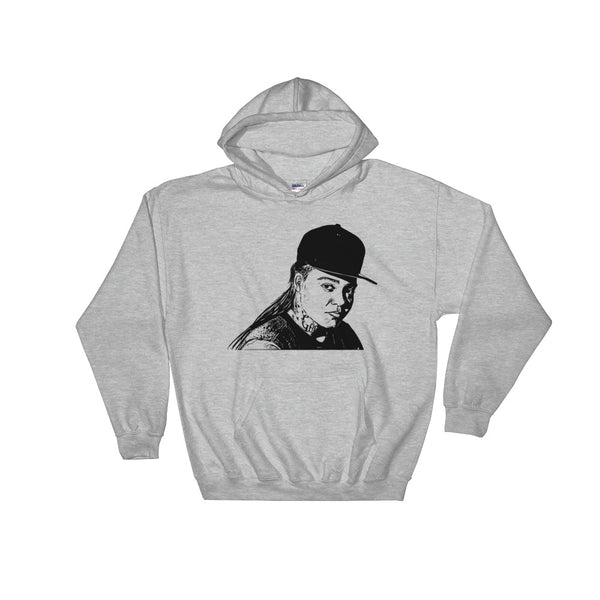 Young M.A. Grey Hoodie Sweater (Unisex), Babes & Gents, Ottawa
