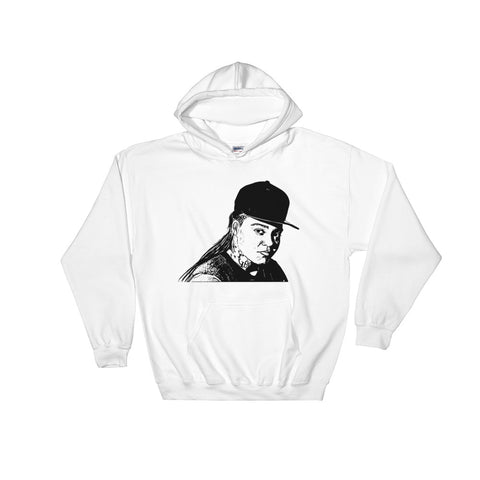 Young M.A. White Hoodie Sweater (Unisex)
