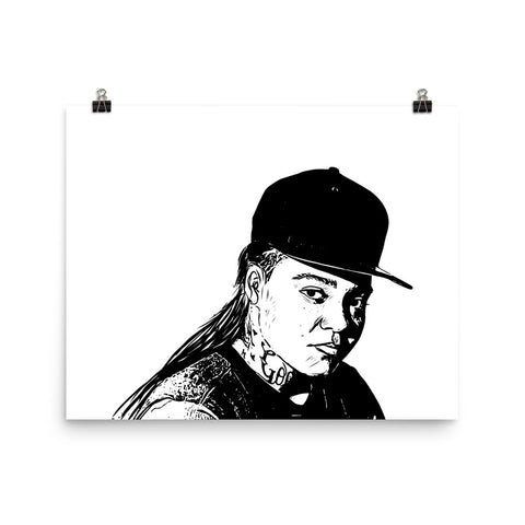 YOUNG M.A. 11x17 Art Poster