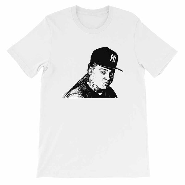 Young M.A. White Tee (Unisex) // T-shirt // Babes & Gents // www.babesngents.com
