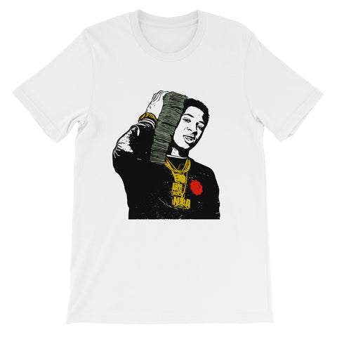YoungBoy Never Broke Again White Tee (Unisex)