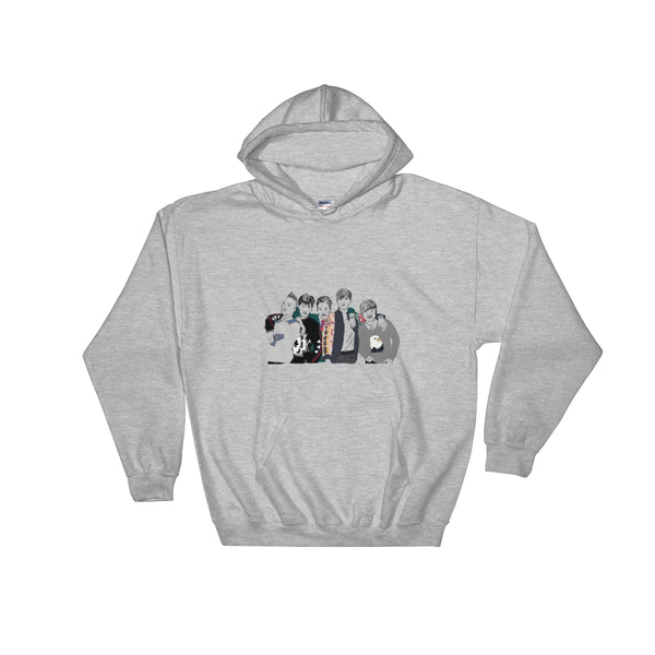 Big Bang Grey Hoodie Sweater (Unisex), Babes & Gents, Ottawa