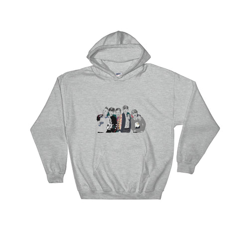 Big Bang Grey Hoodie Sweater (Unisex)